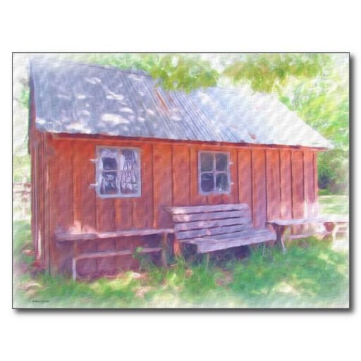 Lazy Day Cabin Post Cards ~ Thank You Waco, TX