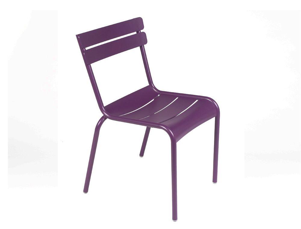 Mobilier Luxembourg : #Chaise de jardin #Couleur Aubergine #Design ...