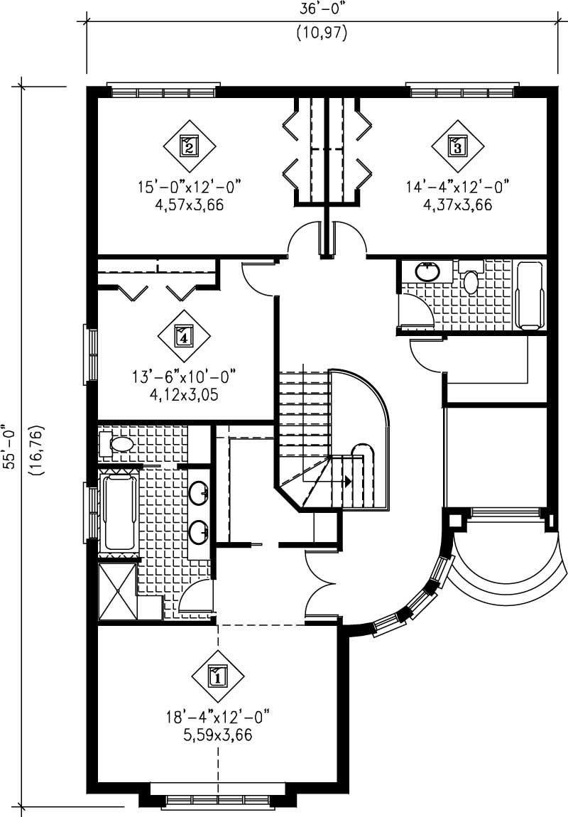 plan de maison nouvelle angleterre