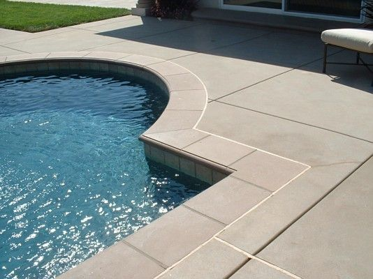 Pool Coping | Pavers in 2019 | Pool landscaping, Pool coping ...