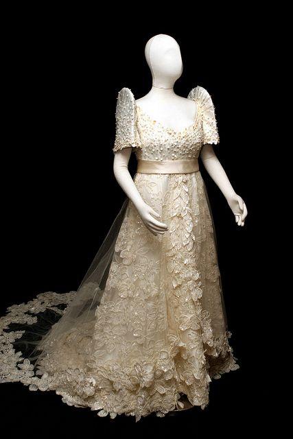 Pearls Laces Filipino WeddingBridal GownWedding