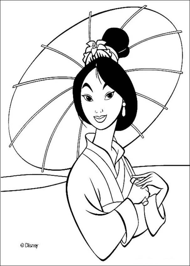 Mulan Coloring Pages Beautiful Fa Mulan Malvorlagen Lustige Malvorlagen Disney Farben