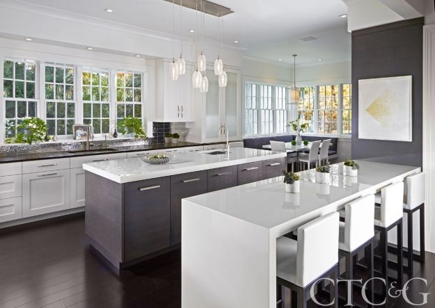The Most Memorable Kitchens from the Pages of CTCG Cocinas - Cocinas Integrales Blancas