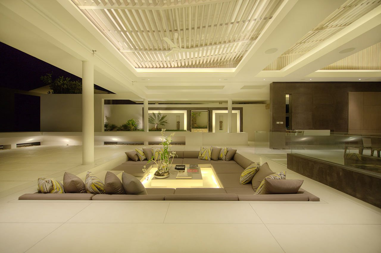 Sunken Seating And Other Home Interior Ideas: Outdoor-sunken-seating-area-dream-home