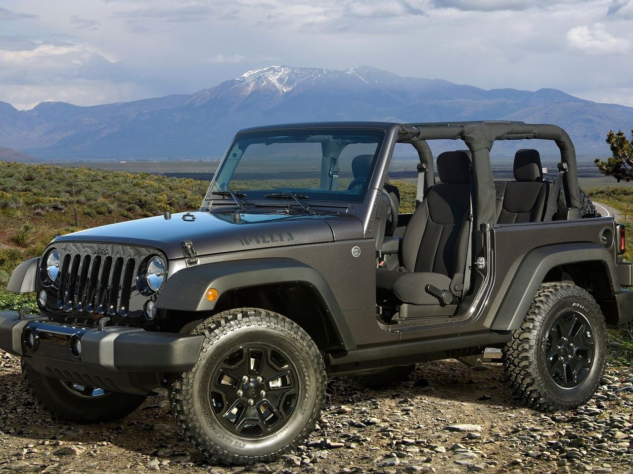 2014 Jeep Wrangler Willys Wheeler (With images) 2014