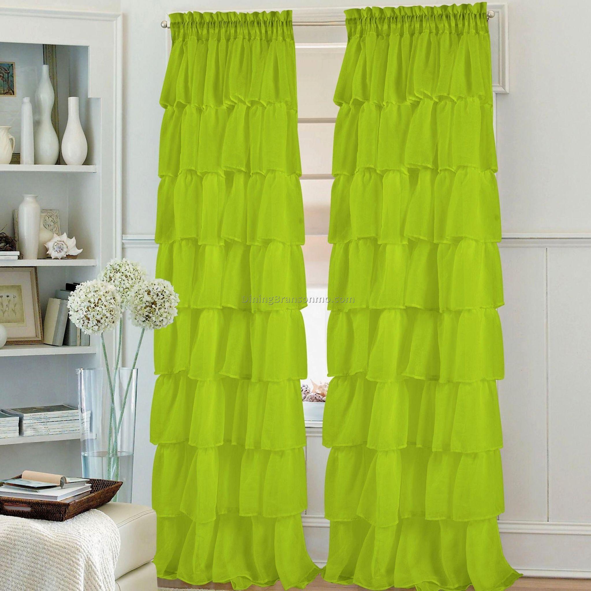 Taupe Farbe Dekorative Ideen Für Ihr Zuhause: Beste 11 Lime Green Vorhänge Für Ihr Zuhause