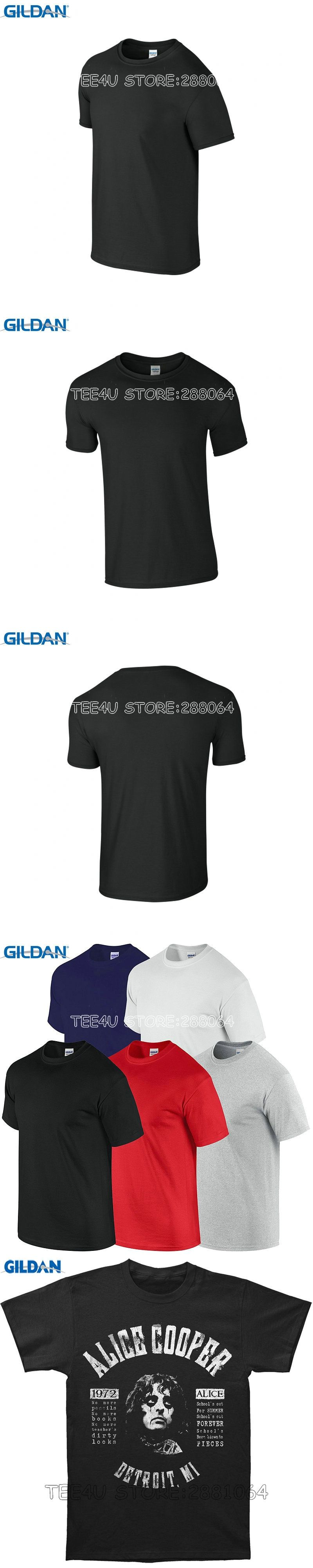 3a7b383c3a6a Tee4U Summer The New Fashion For Sleeve Men S O-Neck Alice Cooper School S  Out Lyrics