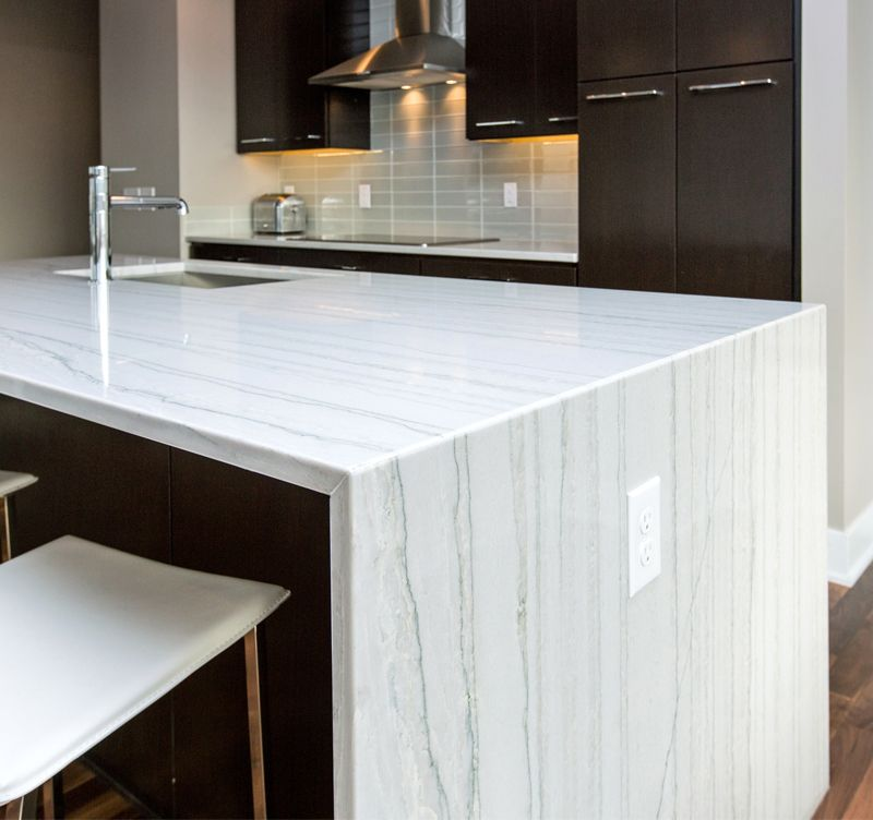 pin on for the kitchen on kitchen island ideas white quartz id=99598