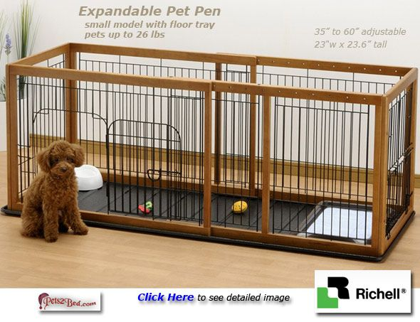 Indoor Dog Pen Expandable