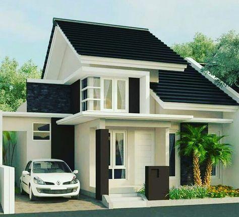bentuk rumah sederhana tapi elegan | beautiful houses di