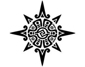 This tattoo depicts the Mayan Sun symbol which is of significant value. As it is no secret that Mayans were sun worshippers.