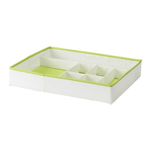 kusiner box with compartments ikea inside organizer for socks underwear or other small items. Black Bedroom Furniture Sets. Home Design Ideas