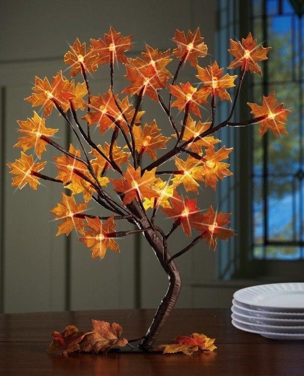 13 increíbles manualidades con hojas de árboles Hojas de árbol