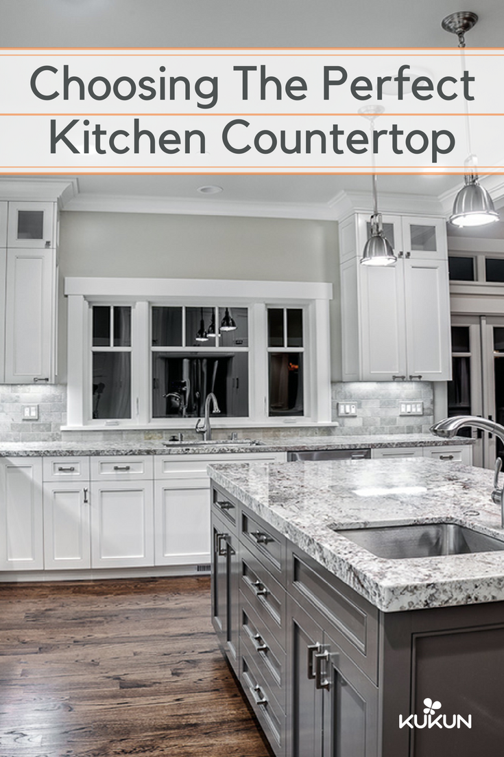 Choosing Kitchen Countertops Things You Should Know Kitchen Remodel Countertops Kitchen Countertops Grey Granite Countertops