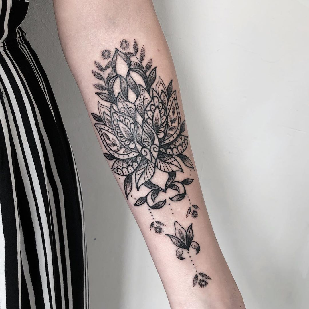 Pin on Lotus flower tattoo designs and meanings