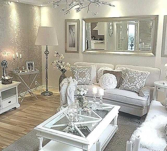 23 Best Beige Living Room Design Ideas For 2020: Modern Glam Living Room Decorating Ideas Elegant Glam