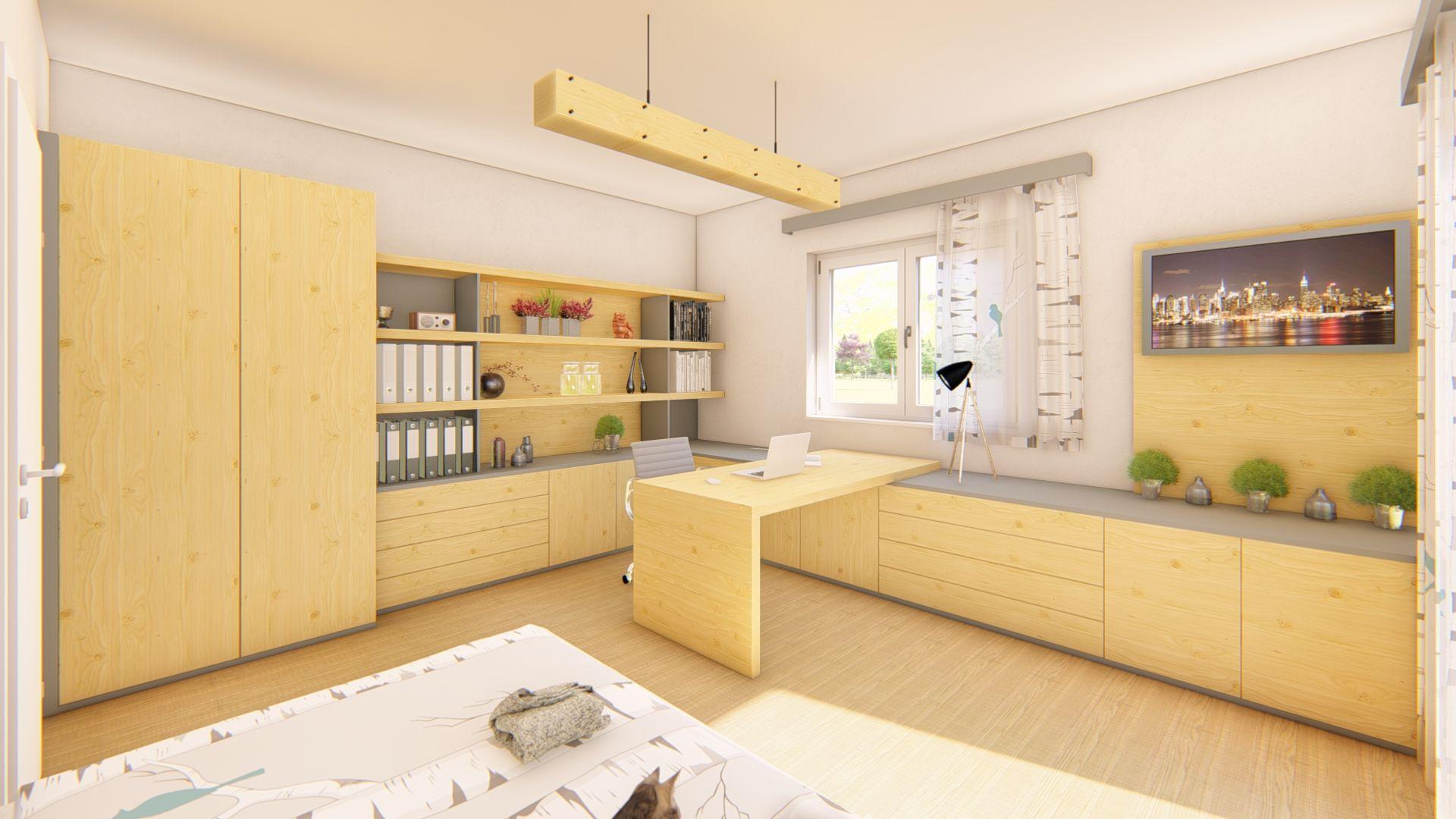 Nöbauer Innenarchitektur - Home-Office #office #design #interior ...