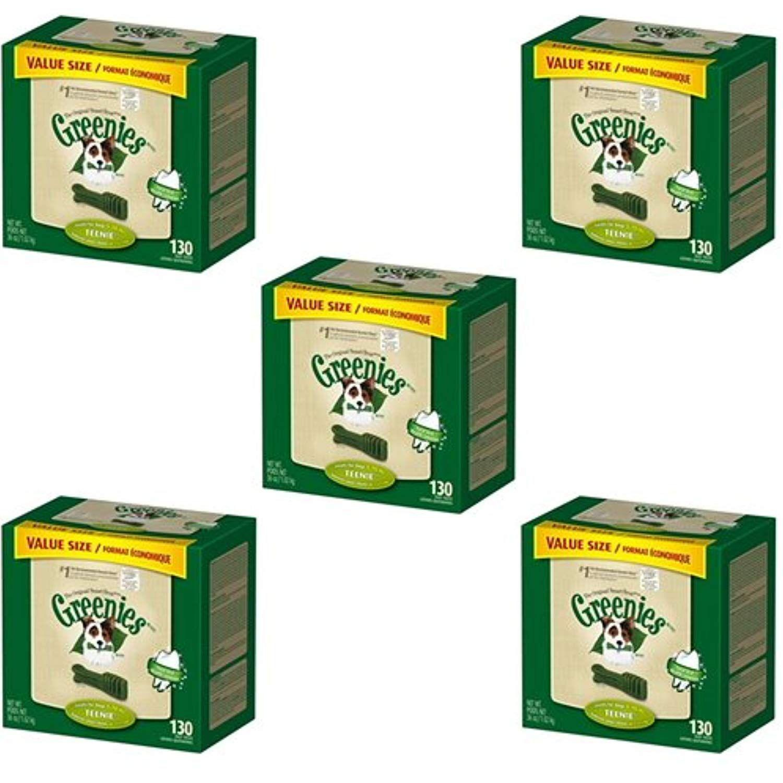 Greenies dental chews value size teenie 180oz5 x 36oz