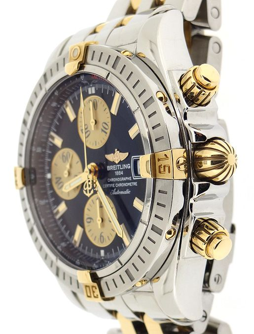 a6bc4a7cdfe8 Breitling Chronomat Windrider Two-Tone Chronograph B13356