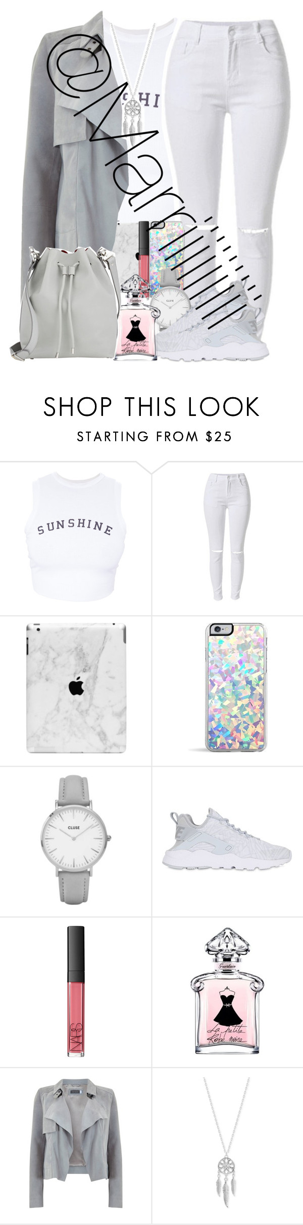 """""""Its hot asab"""" by marriiiiiiiii on Polyvore featuring Wildfox, Lipsy, Topshop, NIKE, NARS Cosmetics, Mint Velvet, Lucky Brand and Proenza Schouler"""