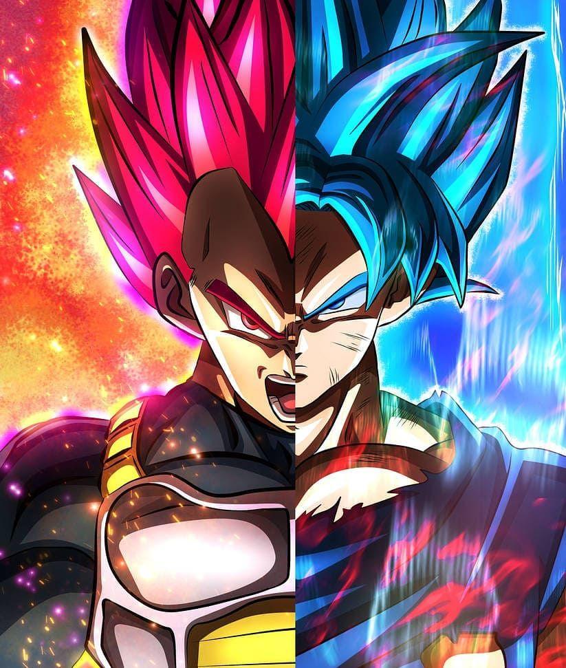 "Dragon Ball Z Hashtags: Dragon Ball/Z/Super 🌟 On Instagram: ""Left Or Right"