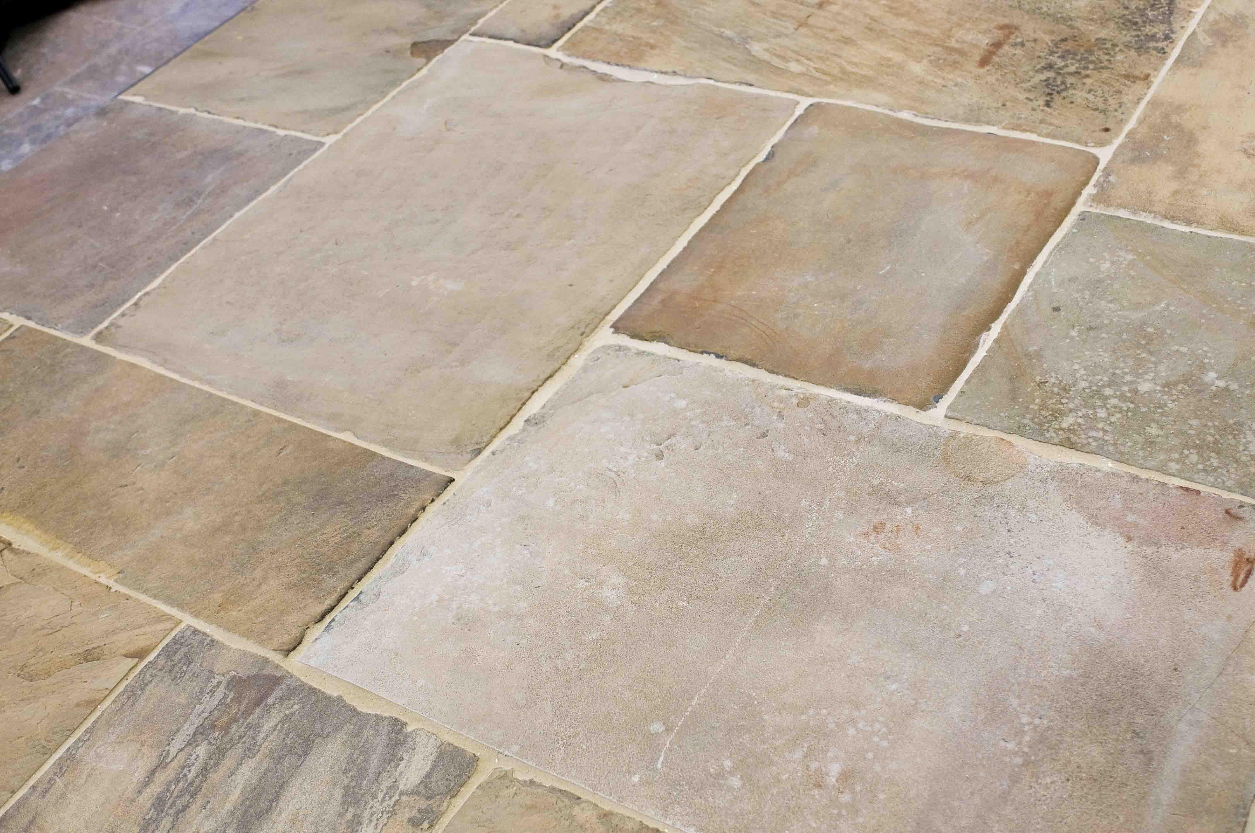 Tile Floors Designs English Reclaimed Stone Tile Floor