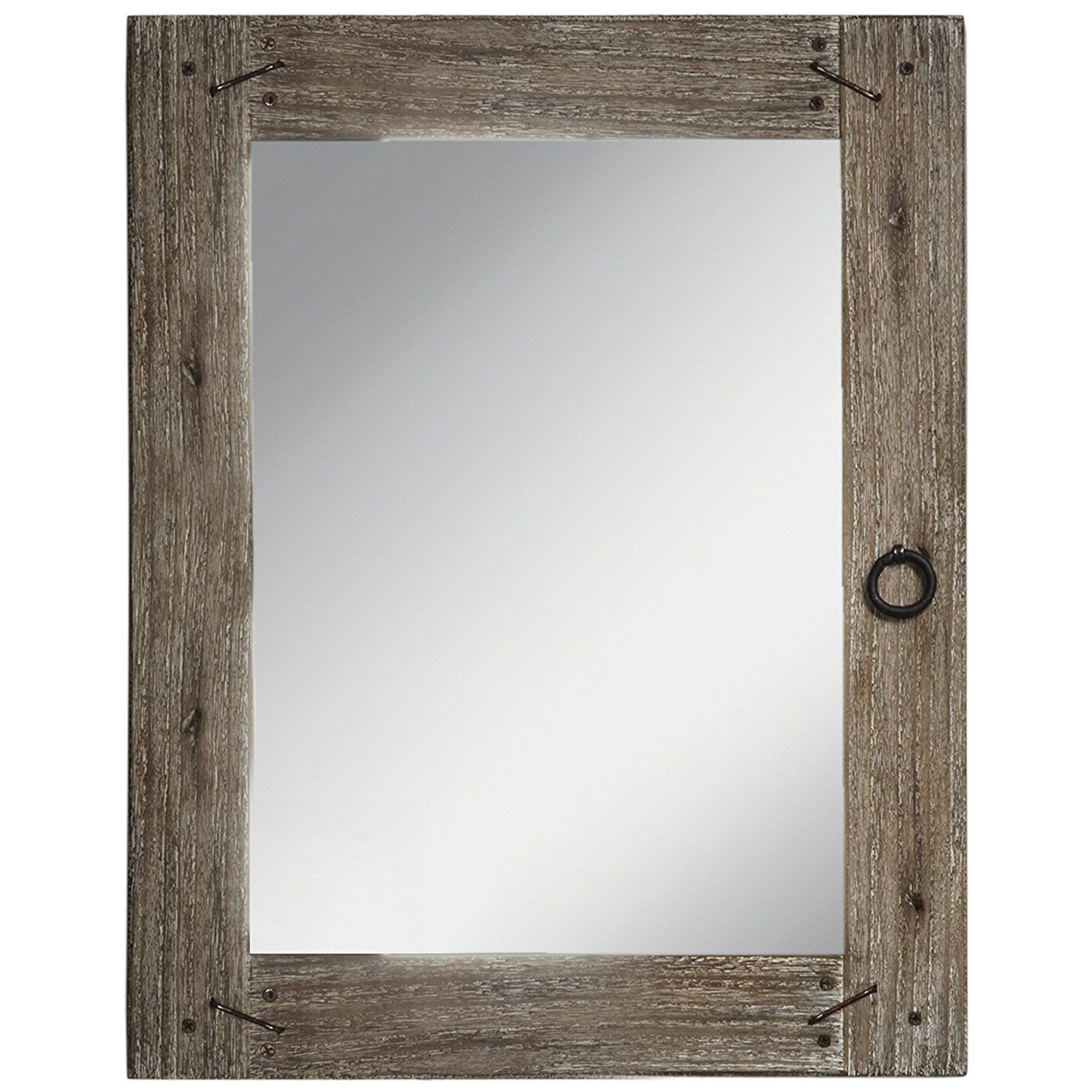 "Prinz 3 Opening 4x6"" Barnswood Wood Frame"