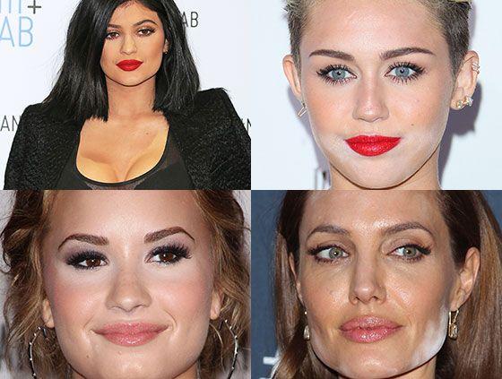 The Worst Celebrity Contour Fails - SheFinds
