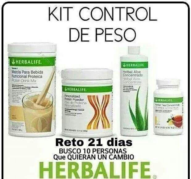 Pasos para bajar de peso con herbalife