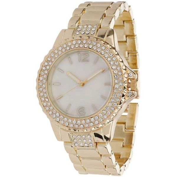 Bridal Shoes Selfridges: Miss Selfridge Pearl Face Watch ($32) Liked On Polyvore