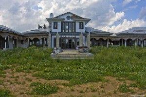 Abandoned, half-finished mansion near Baltimore, Maryland