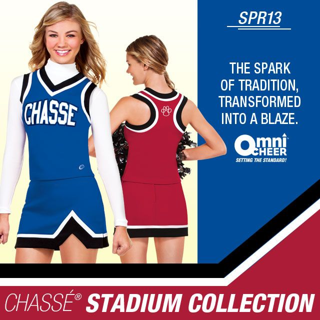 Chasse Stadium Collection - cheer uniforms at Omni Cheer