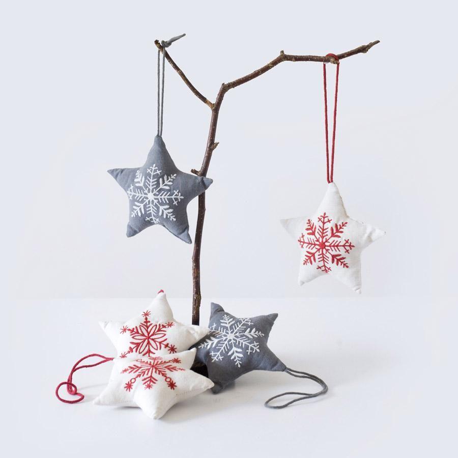Snowflake Stars by Pure Lana