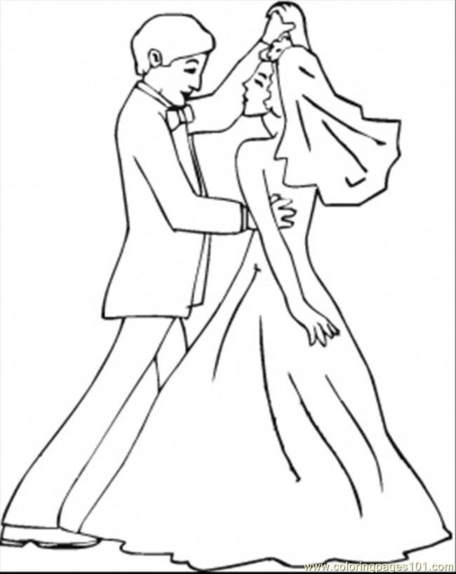 Free Printable Wedding Coloring Pages For Kids | knk-Zing air ...