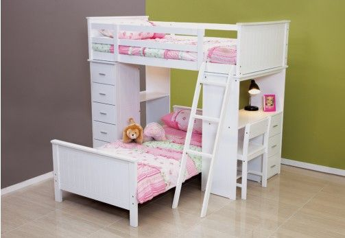 Manhatten At Super Amart Loft Bunk Beds Bunk Bed With Desk