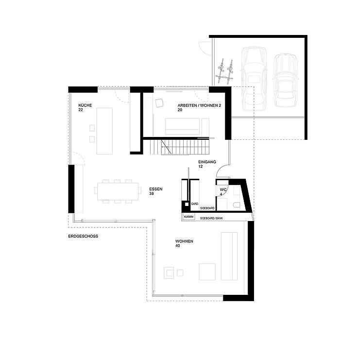 modern aber nicht k hl frankfurt cube magazin grundriss pinterest grundrisse h uschen. Black Bedroom Furniture Sets. Home Design Ideas