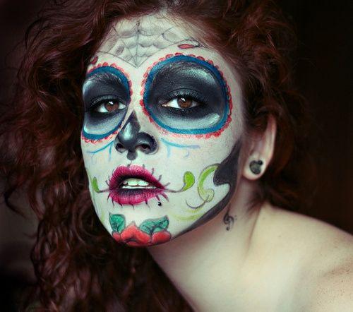 day of the dead costumes   Day_of_the_Dead #costume #makeup #Halloween   Making Faces