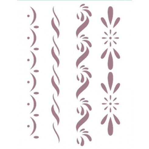 Plantilla de stencil 15x21cm d 124 productos - Plantillas para pintar paredes para imprimir ...