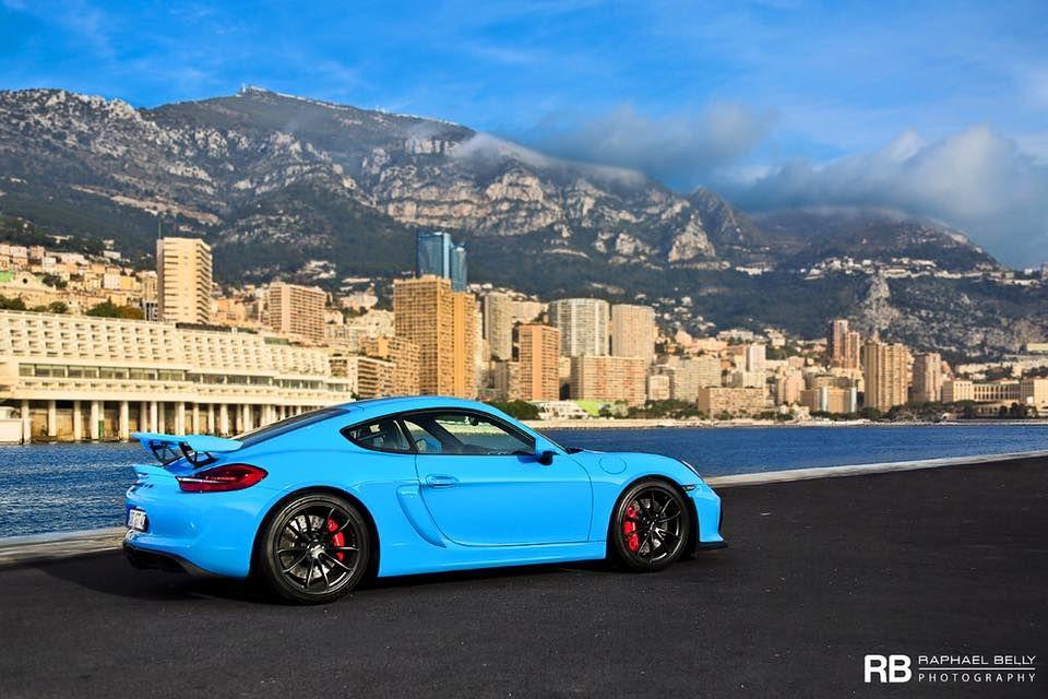Miami Blue Porsche Cayman GT4 Is Why We Love Porsche