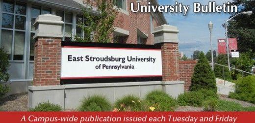 East Stroudsburg University Application Status