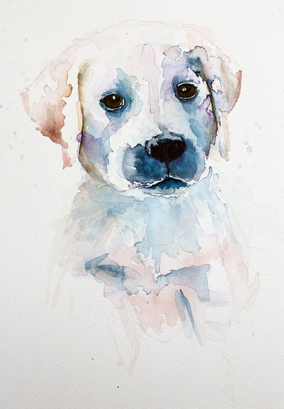 Original Water Colour Painting Your Pet Water By Theironquill