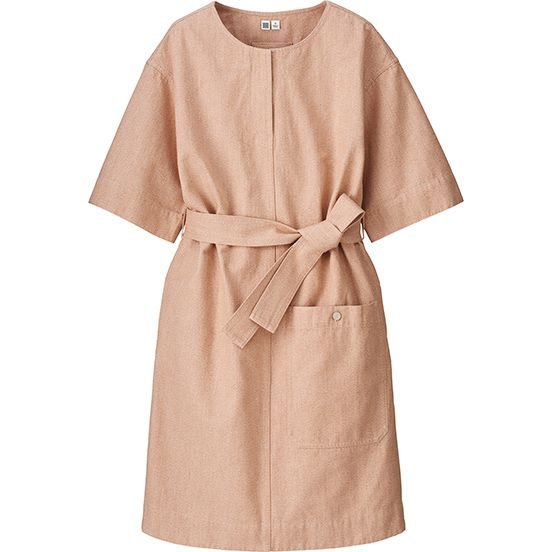 Damen U Melange Kleid Kurzarm Fashion Vogue Dress How To Wear