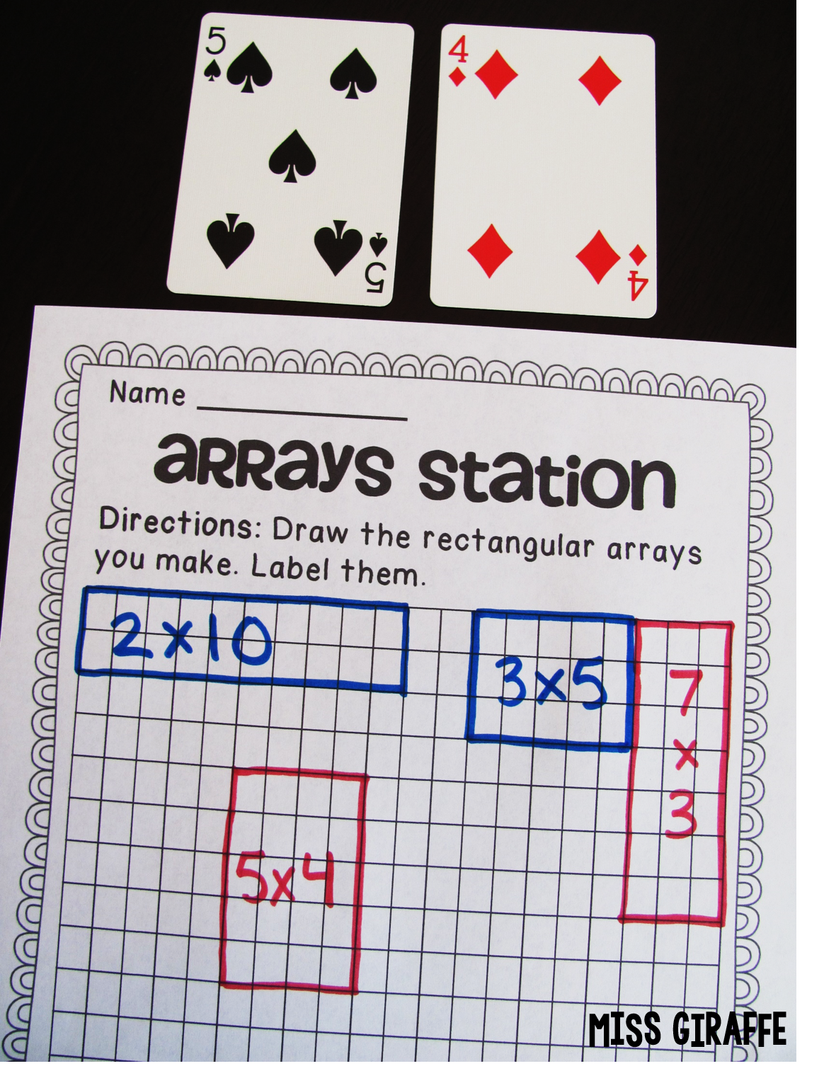 I Love Learning About Arrays Because They Are So Visual