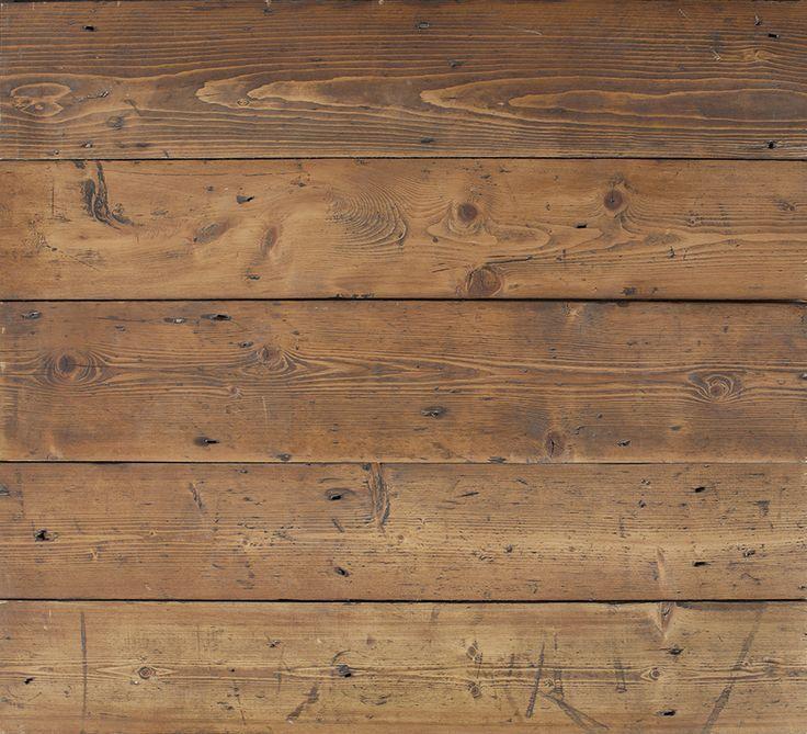 Brown Wax Victorian Pine Floorboards Is A Genuine Period