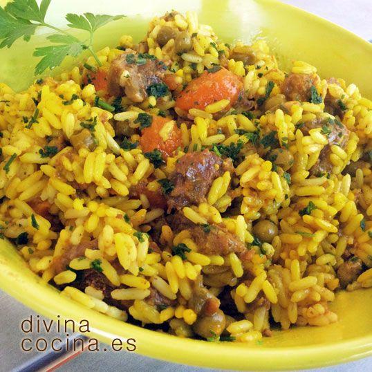 arroz rpido de carne y verduras divina cocina - Cocina Divina