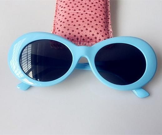 a479c0655b Bold Retro Oval Mod Thick Frame Sunglasses Celebrity Clout Goggles with  Round Lens 52mm for Men and Women