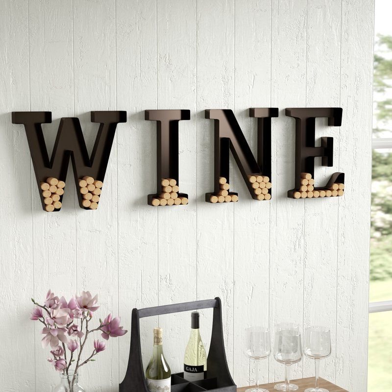 Metal Wine Cork Holder. Letter Wine Cork Holder, Letter, Cork Holder ...