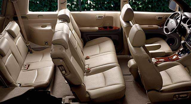 2017 Toyota Highlander Interior Seats