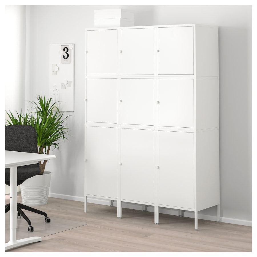 HÄLLAN Storage Combination With Doors