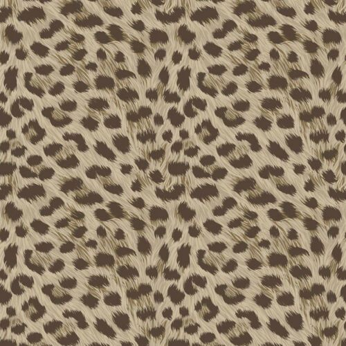 The Glittery World Of Silver Bedroom Ideas: Details About Trending Leopard Print Feature Wallpaper